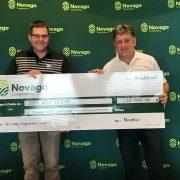 Novago Coopérative remet 15 700$ à son tournoi de golf bénéfice