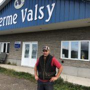 Portrait de Sylvain Baril, producteur laitier et grandes cultures