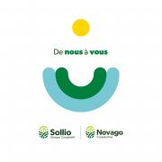 Novago Coopérative  et Sollio Groupe Coopératif viennent en aide à la communauté avec des produits de chez nous